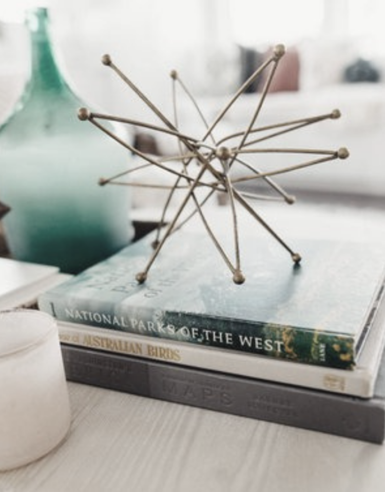 coffee table books | Elaine Thomas Interiors
