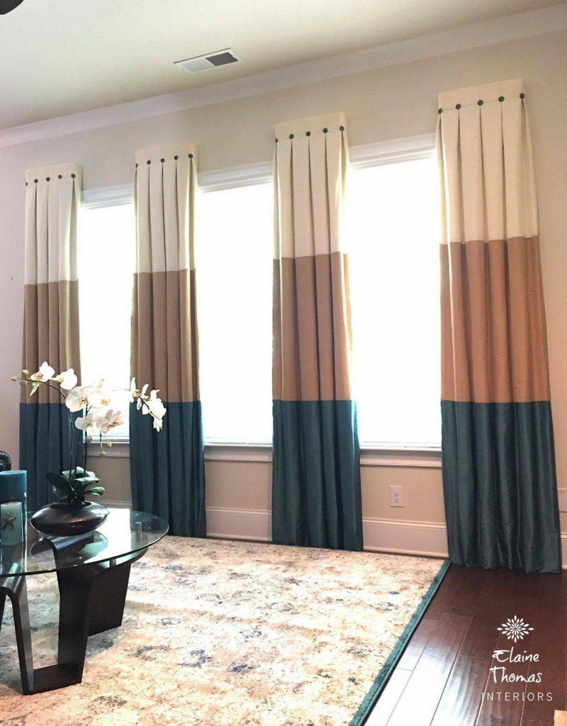 Atlanta Custom Window Treatments Elaine Thomas Interiors