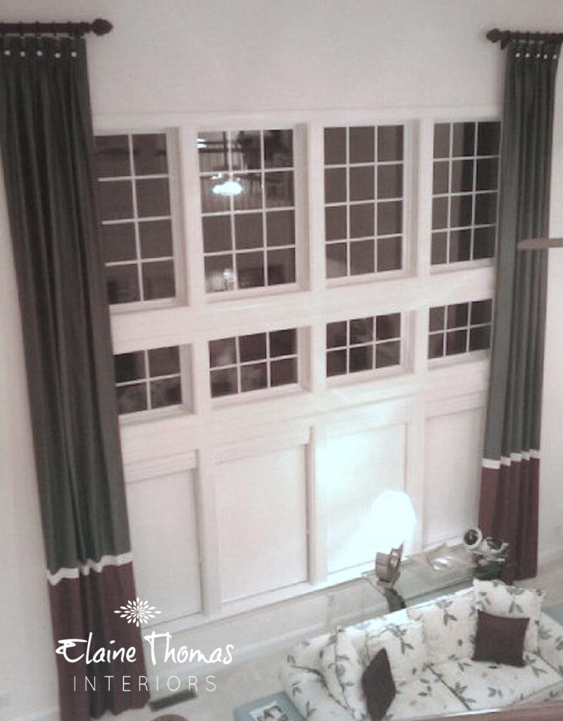 Atlanta Custom Window Treatments | Elaine Thomas Interiors.